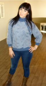 70's Mod Sweater.
